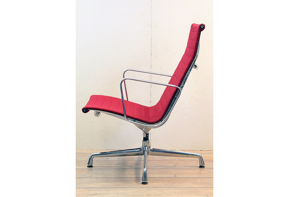 Excellent Charles Eames Stuhl Hopsack Rot Vitra Chair Ea With Vitra Stuhl  With Eames Stuhl Mit Fell