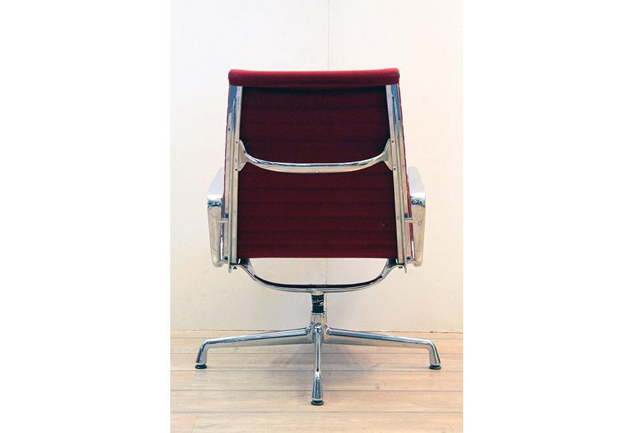 Charles eames stuhl hopsack rot vitra chair ea 116 abatrans for Charles eames stuhl