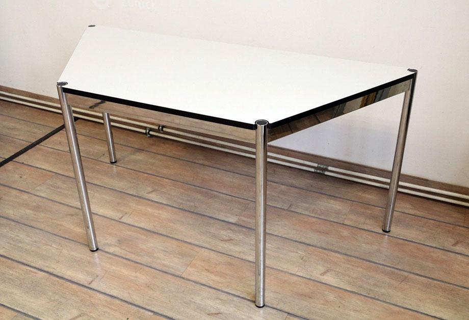 tisch trapeztisch usm haller 160616 09 abatrans. Black Bedroom Furniture Sets. Home Design Ideas